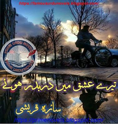 Tere ishq mein dar badar huey novel by Saira Qureshi Part 1 pdf
