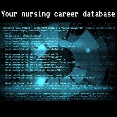 Your nursing career database