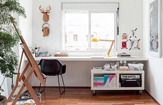 decoración de zona de trabajo en casa