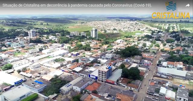 Cristalina Goiás - Pandemia Coronavírus (Covid-19)