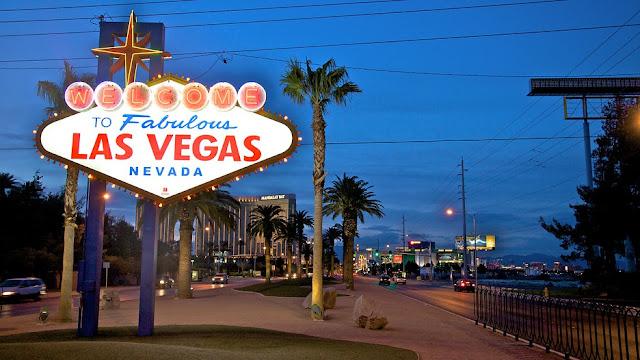 Las Vegas em Abril