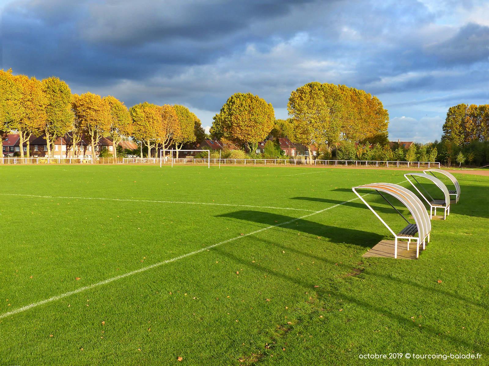 Stade Houpline, Tourcoing - Terrain de Foot Michel Coque