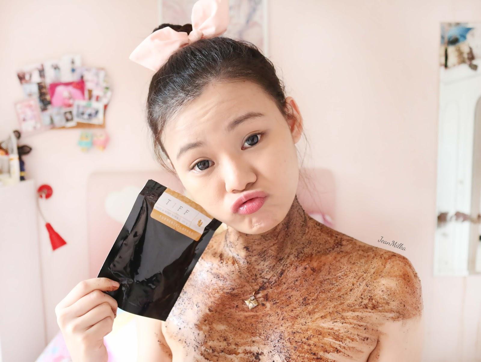 natural skincare, jerawat, acne, solusi jerawat, acne skincare, tiff body, homemade skincare, skicnare natural, coffee scrub, scrub