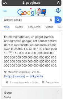 Définition de Google