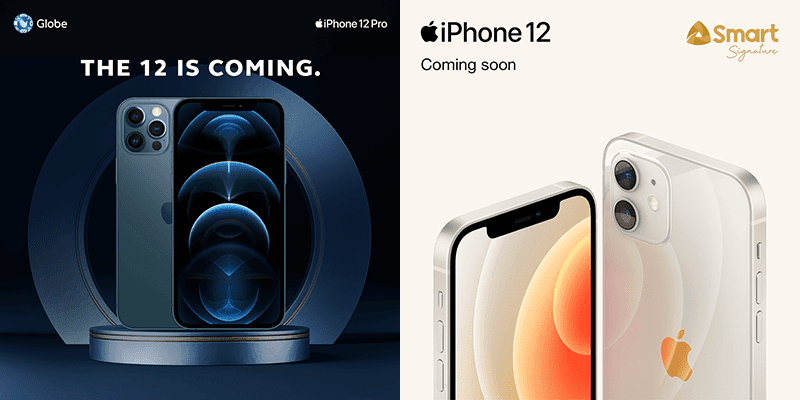 Apple iPhone 12 series from Globe and Smart teased to arrive this December!