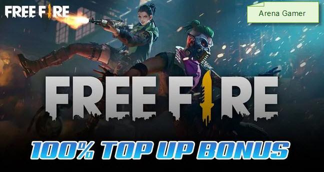 [Terbukti] Cara Mendapatkan Bonus Top Up Free Fire 2021