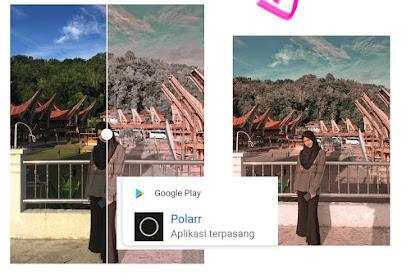 Cara Edit Foto ala Selebgram Mudah dengan Aplikasi Polarr
