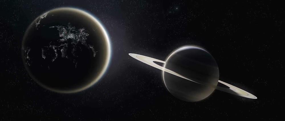 Terraformed Titan in TerraGenesis game