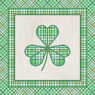 Shamrock and plaid