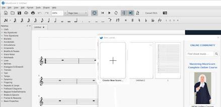 2 Aplikasi Pembuat Partitur Lagu Notasi Balok Yang Sering Digunakan Komposer Lagu :Musescore Ngamen blog