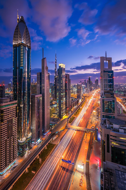 Dubai city.