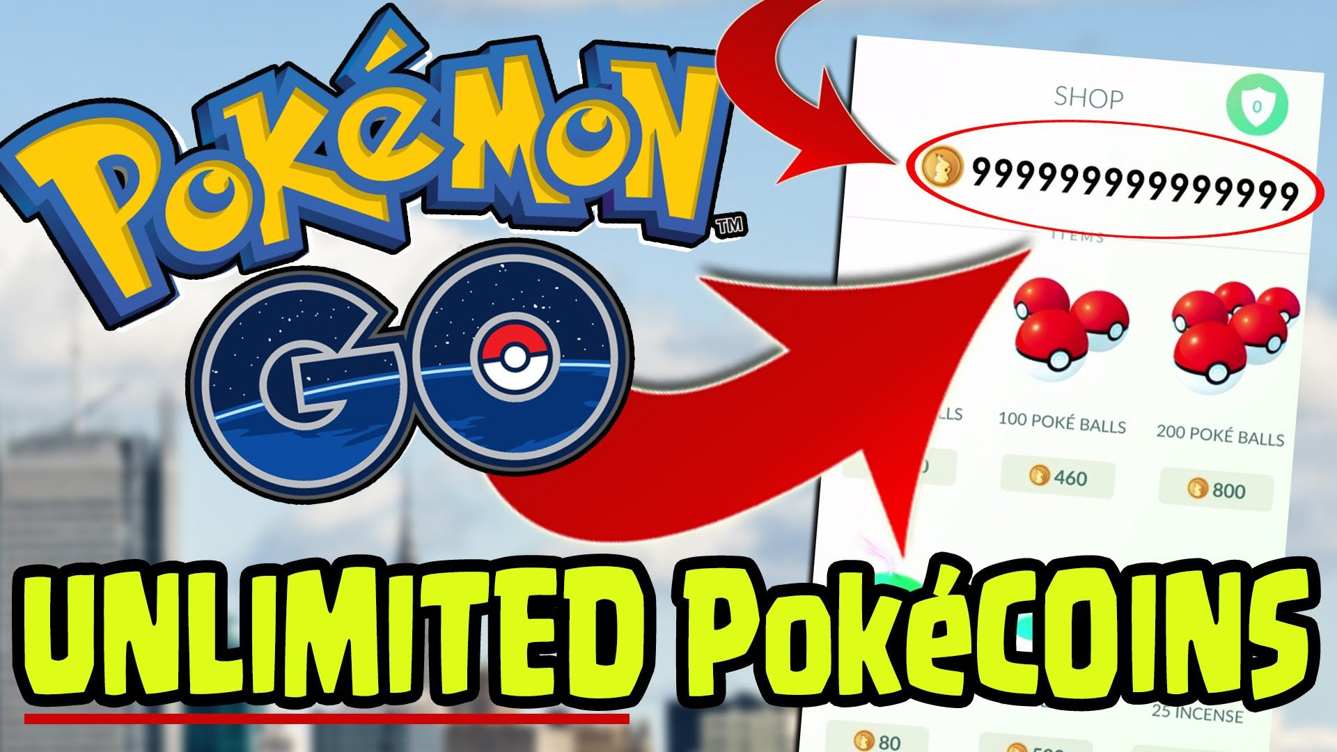Get Unlimited Pokecoins & Pokeballs For Free! 100% Working [20 Oct 2020]