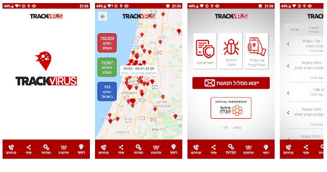 aplikasi track virus