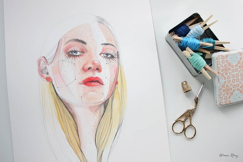 Ilustración original de Ana Santos