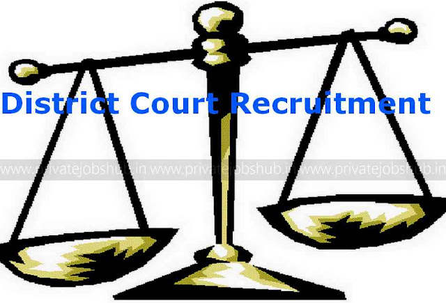 District Court Recruitment
