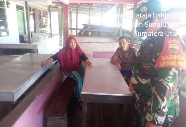 Dengan Cara Komsos Personel Jajaran Kodim 0207/Simalungun Edukasi Covid-19 Kepada Warga Binaan