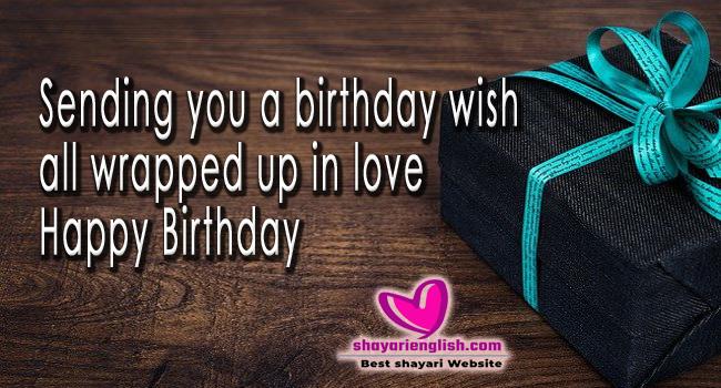 Best Birthday shayari in English and Hindi for everyone