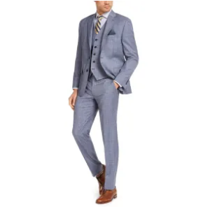 From $105, Lauren Ralph Lauren Men's Classic-Fit UltraFlex Stretch Suit