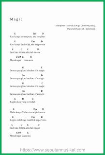 chord lagu magic band lyla