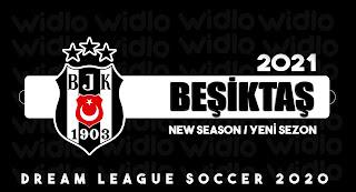 Beşiktaş 2021 - DLS2020 Dream League Soccer 2020 Forma Kits ve logo ( YENİ SEZON )