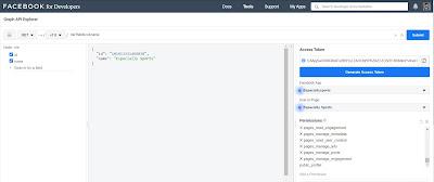 Testing Facebook Graph API