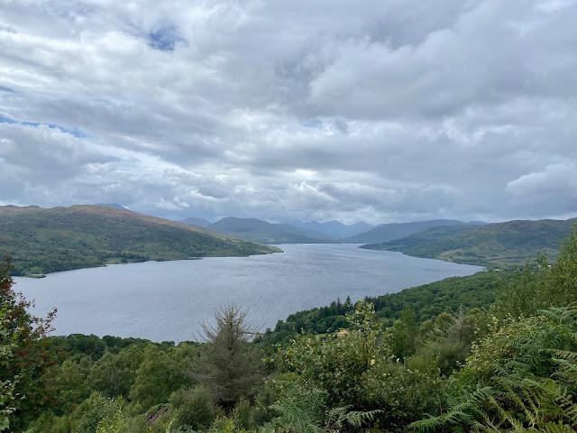 Loch Katrine from Primrose Hill, Trossachs National Park, Scotland