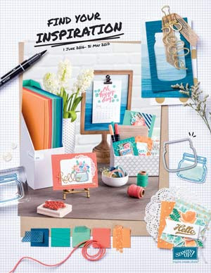 Stampin' Up! 2016-2017 Catalog Front Cover