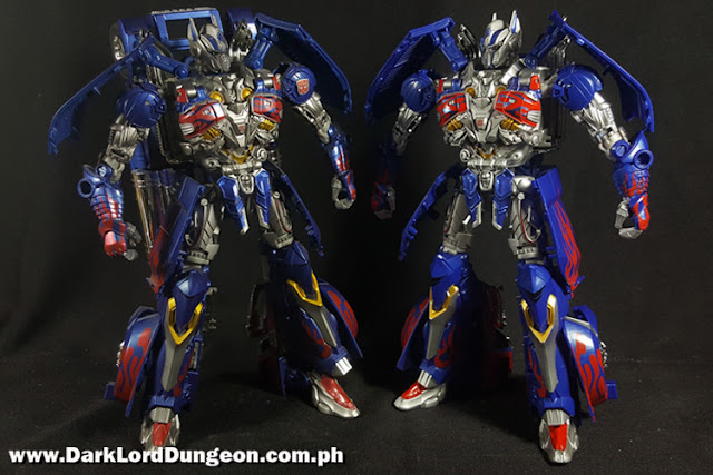 Takara TLK-15 Calibur Optimus Prime & AD 31 Armor Optimus Prime