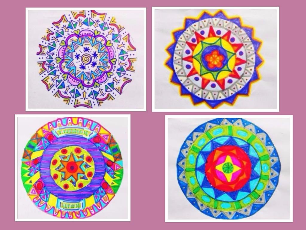 Puertas a la imaginaci n m ndalas a color - Colores para pintar ...