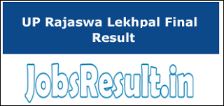 UP Rajaswa Lekhpal Result 2018