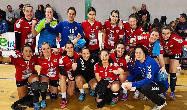 Balonmano | El Zuazo se lleva la victoria en Elche con un gol de Alexandra Gil en el último minuto