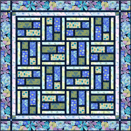 Dashing Quilt Designed by Janice Averill for Quilting Treasures