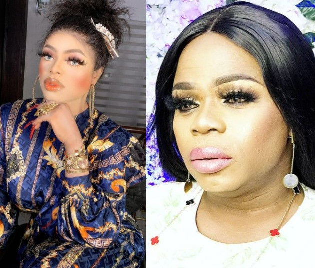 ''Go and change your phone first, You old man ''- Bobrisky calls out his fellow crossdresser, Michelle Page