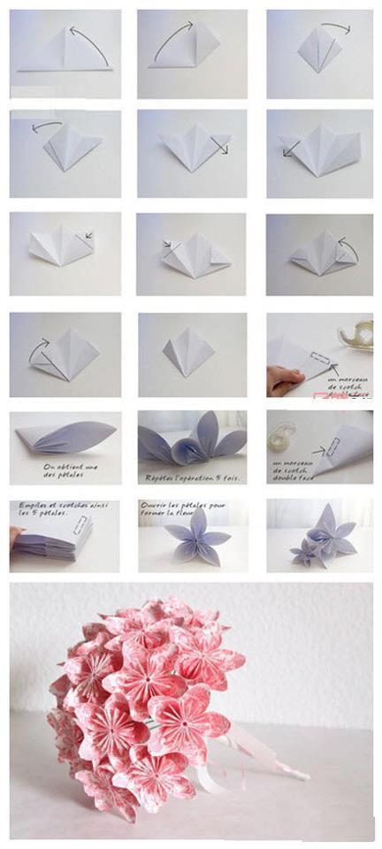 Origami Lotus Blossom Tutorial