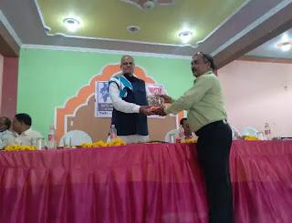 उरई : ऑल इंडिया कन्फेडरेशन ऑफ़ द ब्लाइंड के तत्वाधान में दृष्टिहीनओं की कार्यशाला का आयोजन