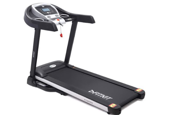 Fitkit FT200SX 2.25HP (4.5HP Peak) Motorized Treadmill With Free Installation and Free Diet & Fitness Plan