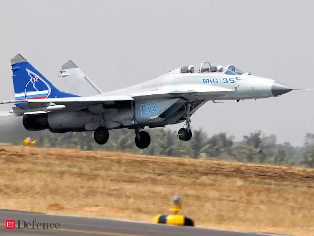 MIG fighter Aircraft Crashes near Goa Both Pilots Safe