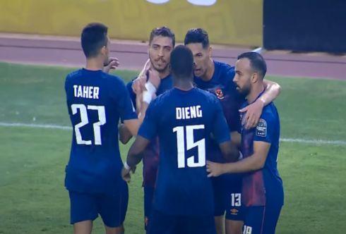 الأهلي المصري يفوز على الترجي التونسي بهدف محمد شريف
