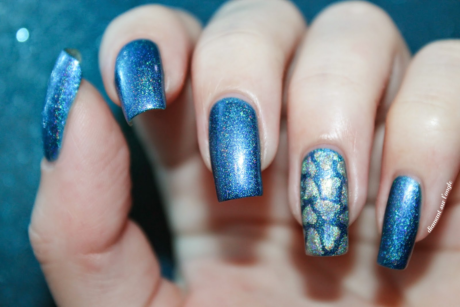 Autism Awareness Day Nail Art