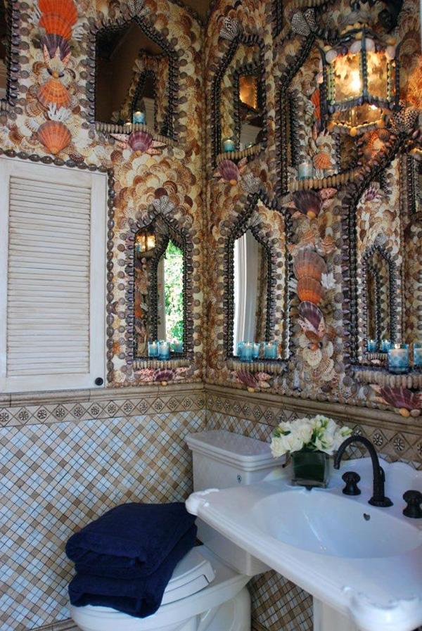 Moroccan bathroom design ideas - Bathroom wall decorating ideas small bathrooms ...