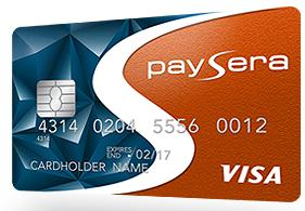 8d9794820 بطاقة فيزا التي يوفرها بنك Paysera تتميز بالعديد من الخصائص، أهمها التفعيل  الكلي للبايبال (Paypal) اضافة الى عمولاتها المنخفضة
