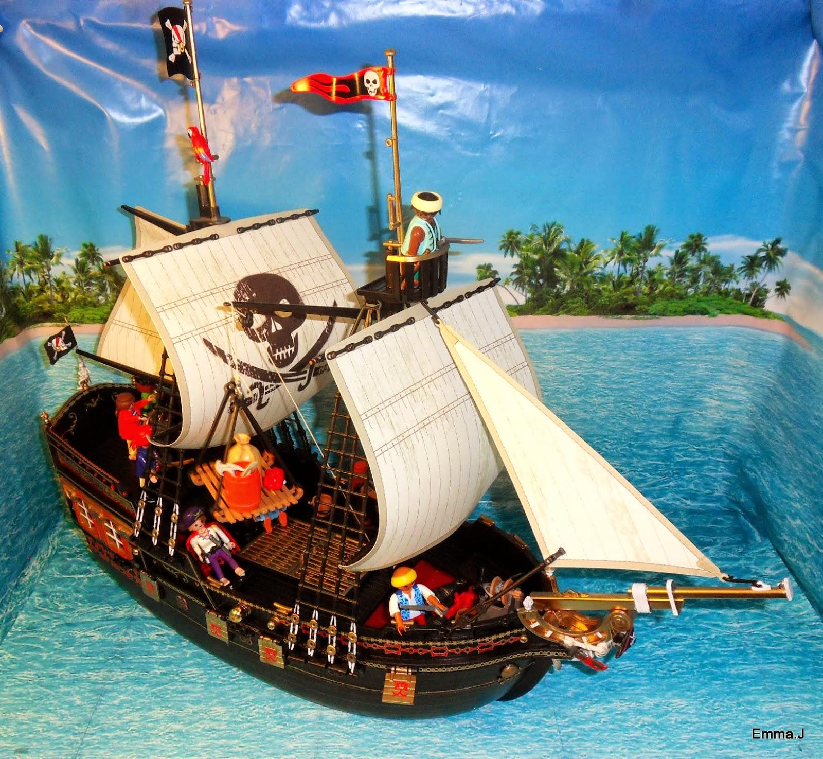 retribution pirate ship  emmaj's playmobil