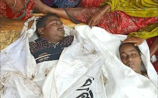 দামুড়হুদার কার্পাসডাঙ্গায় সেপটিক ট্যাংকে নেমে দুজনের মর্মান্তিক মৃত্যু