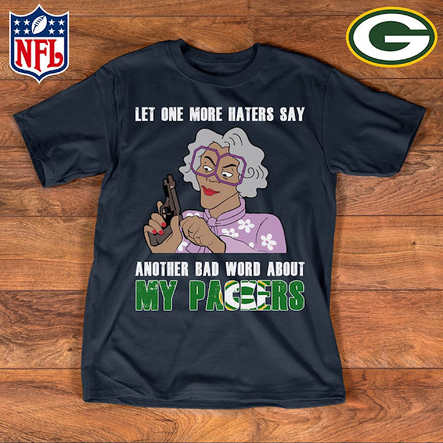 Green Bay Packers - Let One More Mater Say Another Bad Word About Shirt