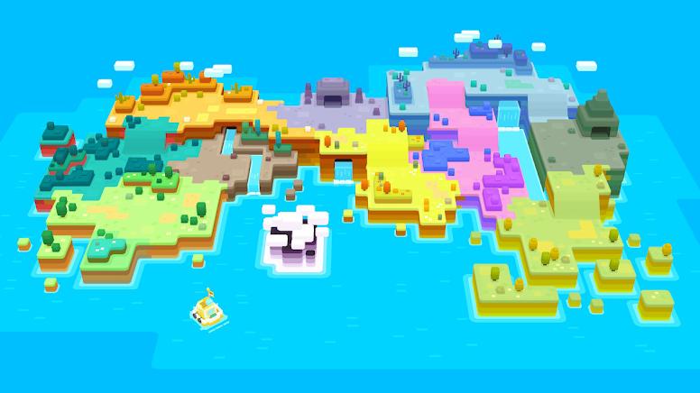 Tumblecube Island