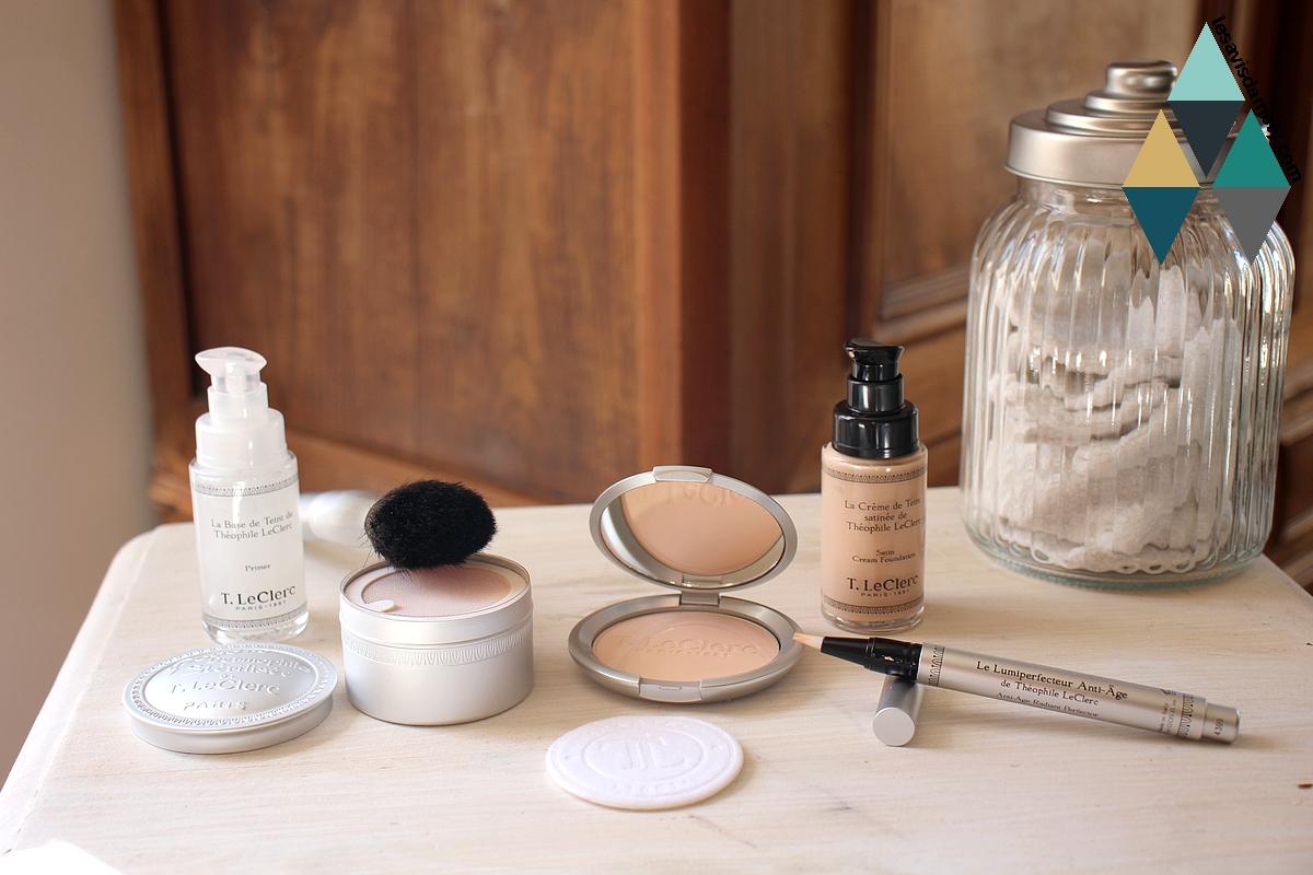 avis et test maquillage teint theophile leclerc