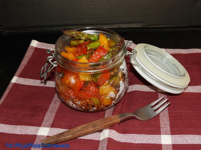 Czerwone sorgo z warzywami - CZYTAJ DALEJ