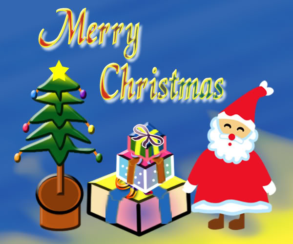 Merry Christmas free pictures images ecards download