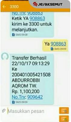 Transaksi Berhasil