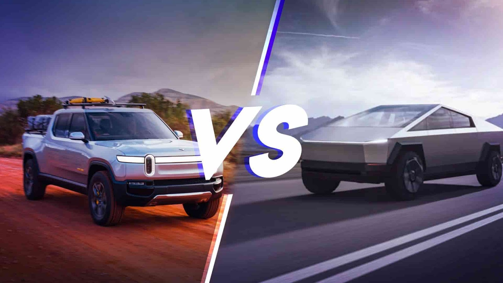 Tesla-Vs-Rivian-innovative-pickup-truck-features